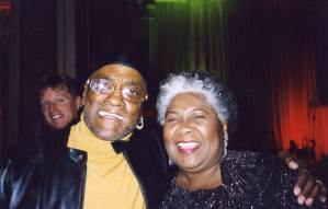 Billy Paul, of Me and Mrs. Jones fame, and Dorothy tour together in 2004-05.